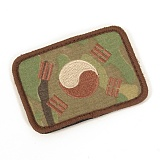 Multicam Korea Flag Patch - ��Ƽķ �±ر� ��ũ�� ��ġ