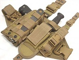 [IK CRAFT] DP902SET Full Platform Molle Leg Holster - Ǯ �÷��� ���� ���� Ȧ����