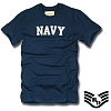 [Rapid Dominance] R57 Basic Felt Applique T-Shirts Navy Navy - ���ǵ� ���̳ͽ� ���ر� ������ Ƽ����(���̺�)