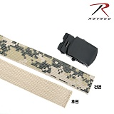 [Rothco] ACU Digital / Khaki Reversible Web Belt - �ν��� ACU/�縷�� ��� ��Ʈ