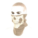 Luminous Skull neck Warmer Tan - ��� ��� �߱����� �ذ����� (TAN)