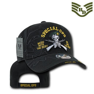 [Rapid Dominance] RD7- Shadow Military Baseball Cap. Special Force Black - ���ǵ� ���̳ͽ� ����� �׸����� ������ ĸ����