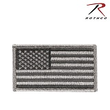 [Rothco] Foliage Green American Flag Patch W/Hook&Loop - �ν��� �̱� ������ FG ��ũ�� ��ġ