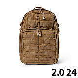 511 택티컬(511 Tactical) [5.11 Tactical] RUSH 24 Back Pack (FDE) - 5.11 택티컬 러쉬 24 백팩 (FDE)