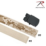 [Rothco] Desert Digital / Tan Reversible Web Belt - �ν��� �縷�ȼ�/�縷�� ��麧Ʈ