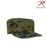 [Rothco] Ultra Force Fatigue Woodland Digital Cap - �ν��� ����ȼ� ��Ʈ�� ĸ����