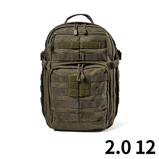 [5.11 Tactical] RUSH 12 Back Pack FDE - ���� 12 ���� (FDE)