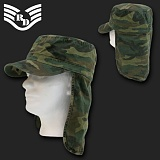 [Rapid Dominance] Woodland Foreign Legion Cap/ Flap Cap - ���ǵ� ���̳ͽ� ���κδ� BDU ĸ���� (��蹫��)