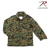 [Rothco] Ultra Force M-65 Field Jacket Woodland Digital - �ν��� ��Ʈ������ M-65 �ʵ����� ����ȼ�