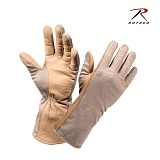 [Rothco] GI Type Nomex Flight Gloves SAND - �ν��� ��ƽ� �װ��尩 (�������)