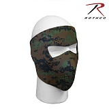 [Rothco] Reversible neoprene Facemask Woodland Digital / BLK - �ν��� �׿����� ��� Ÿ�̰� ����ũ ��巣���ȼ�/�?