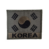 2011 Korea Flag Troops Patch - 2011 �ĺ��� �±ر� ��ġ