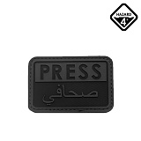 [HAZARD4] Press/Arabic Ruber Velcro-On Patch - ������� ������ ��ġ