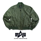 [Alpha] MA-1 Light Flight Jacket Olive - ���� MA-1 ����Ʈ �װ����� �ø���