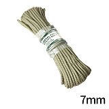 [Kinryu Japan] ZERO-Utility Rope 7mm X 15m - Ų������ ���� �ٱ�� ���� 7mm X 15m Khaki