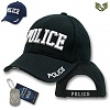 라피드 도미넌스(Rapid Dominance) [Rapid Dominance] JW- Embroidered Law Enforcement Caps. Police (Black) - 라피드 도미넌스 경찰 캡모자 (블랙)