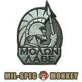 [Mil-Spec Monkey] Molon Labe Full (ACU/DARK) - �н��� ��Ű ��ġ ���� ��� Ǯ 0008 (ACU/��ũ)