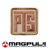[Magpul] Magpul PTS Logo Patch (Desert Tan) - ��Ǯ PTS �ΰ� ��ġ 802 (����Ʈ ź)