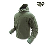 [CONDOR] Sierra Hooded Fleece jacket OD - �ܵ��� �ÿ��� �ĵ� ��ü�� �ø������� (OD)
