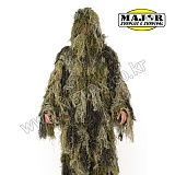 Lightweight And Breathable Camouflage Sniper Ghillie Suits Woodland - �������� �渮��Ʈ ��巣��