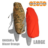 [Eberlestock] J2RC Large Reversible Rain Cover UNICAM/Orange - ��������Ź J2RC ������� ��� ����Ŀ�� (����ķ/������)