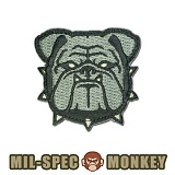 밀스펙 몽키(Mil Spec Monkey) [Mil-Spec Monkey] Bulldog Head Small (ACU) - 밀스펙 몽키 패치 불독 헤드 0031 (ACU)
