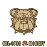 [Mil-Spec Monkey] Bulldog Head Small (Desert) - �н��� ��Ű ��ġ �ҵ� ��� 0031 (����Ʈ)