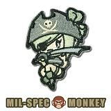 [Mil-Spec Monkey] Pirate Girl (ACU) - �н��� ��Ű ��ġ ���̷�Ʈ �� 0059 (ACU)