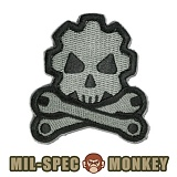[Mil-Spec Monkey] Death Mechanic (ACU/DARK) - �н��� ��Ű ��ġ ���� ��ī�� 0073 (ACU/��ũ)