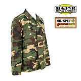 Mil-Spec Plus BDU Jackets Woodland - �н��� �÷��� BDU ���� ��巣��