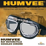 [Humvee] Motorcycle Goggles Chrome - ��� ���ͻ���Ŭ ��� (ũ��)