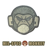 [Mil-Spec Monkey] Mil Spec Monkey Logo (ACU/Light) - �н��� ��Ű ��ġ ��Ű �ΰ� 0017 (ACU/����Ʈ)