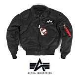 [Alpha] CWU 45P Nylon Cold Weather Flight Jacket - ���� CWU 45P �ݵ���� �ö���Ʈ ����