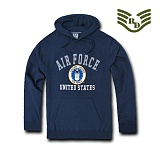 라피드 도미넌스(Rapid Dominance) [Rapid Dominance] S45 - Military  Fleece Pullover Hoodies. Airforce (Navy) -  S45 에어포스 풀오버 후드 (네이비)