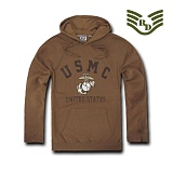 [Rapid Dominance] S45 - Military  Fleece Pullover Hoodies. USMC Coyote -  S45 USMC Ǯ���� �ĵ� (�ڿ���)