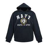 라피드 도미넌스(Rapid Dominance) [Rapid Dominance] S45 - Military  Fleece Pullover Hoodies. Navy (Navy) -  S45 네이비 풀오버 후드 (네이비)