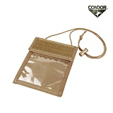콘도르(CONDOR) [Condor] Badge Holder (TAN) - 콘도르 뱃지 홀더 (TAN)
