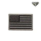 [CONDOR] USA Flag Velcro Patch FG - �ܵ��� �̱� �÷��� ��ũ�� ��ġ (FG)