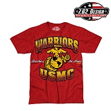 [7.62 Design] USMC Warriors T-Shirts - 7.62 USMC ����� Ƽ����