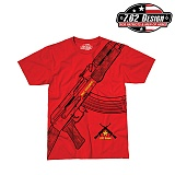 [7.62 Design] Say Goodbye T-Shirts (Red) - 7.62 ���� �¹��� Ƽ���� (����)