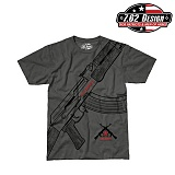 [7.62 Design] Say Goodbye T-Shirts (Charcoal) - 7.62 ���� �¹��� Ƽ���� (í��)