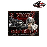 [7.62 Design] 72 Virgins Steel Signs - 72 ���� ��ƿ ����