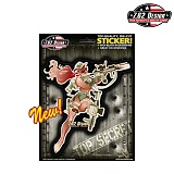 [7.62 Design] Bombshell Specialty Girl Stickers - 7.62 ����ȸ�Ƽ �� ��ƼĿ