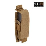 [5.11 Tactical] Single Pistol Mag Pouch FDE - 5.11 ��Ƽ�� �̱� ���� źâ �Ŀ�ġ (FDE)