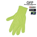[GFP] Acrylic Knit Unlined Hi-Vis Yellow Glove - �������� ��ũ�� ��Ʈ ����ε� Hi-Vis �۷��� (876)