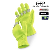 [GFP] 4 WAY STRETCH HI-VIS GLOVE - �������� 4 ���� ��Ʈ��ġ HI-VIS �۷��� (480)