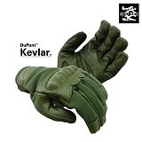 트로이(2ROY Tactical) [2ROY GEAR] Kevlar Knuckle Tectical Gloves (OD) - 트로이 기어 케블러 너클 전술장갑 (OD)
