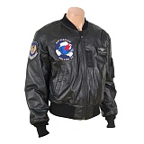 U.S Eighth Air Force Fighter Leather Jacket  - U.S ����Ʈ �������� ������ ���� �װ�����