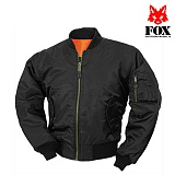 [FOX] Mens MA1 Flight Jacket Black - �� MA-1 �ö���Ʈ ������� (�?)