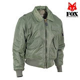 [FOX] Mens Pilots Jacket Sage - ��CWU-45P ���Ϸ�Ʈ ���� (�������׸�)